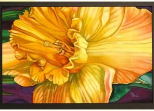 "#133   31""w x 24""h, framed size  $500"